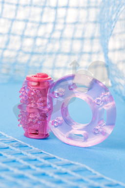 TOYFA, Vibrating ring, TPE, pink