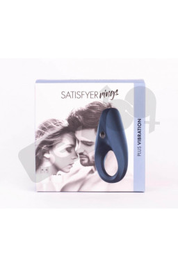 Satisfyer Rings 1 Vibrating Black